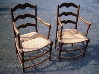 fauteuil paille ancien. Black Bedroom Furniture Sets. Home Design Ideas