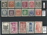 LOT : TIMBRES de FRANCE  Neuf ** .De 1941 et 1944.